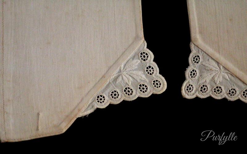 Victorain ladies cuff cutwork lace