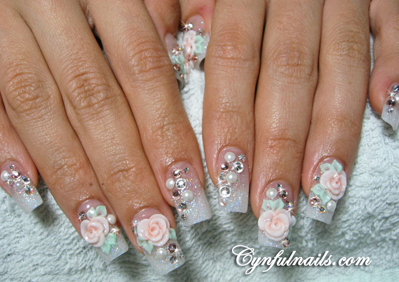 Pointy nails white tip joy studio design gallery best for 99420