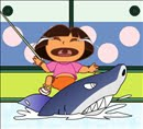 Dora Fishing Games