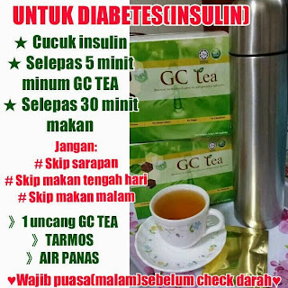 cara minum glucos cut pesakit diabetis insulin