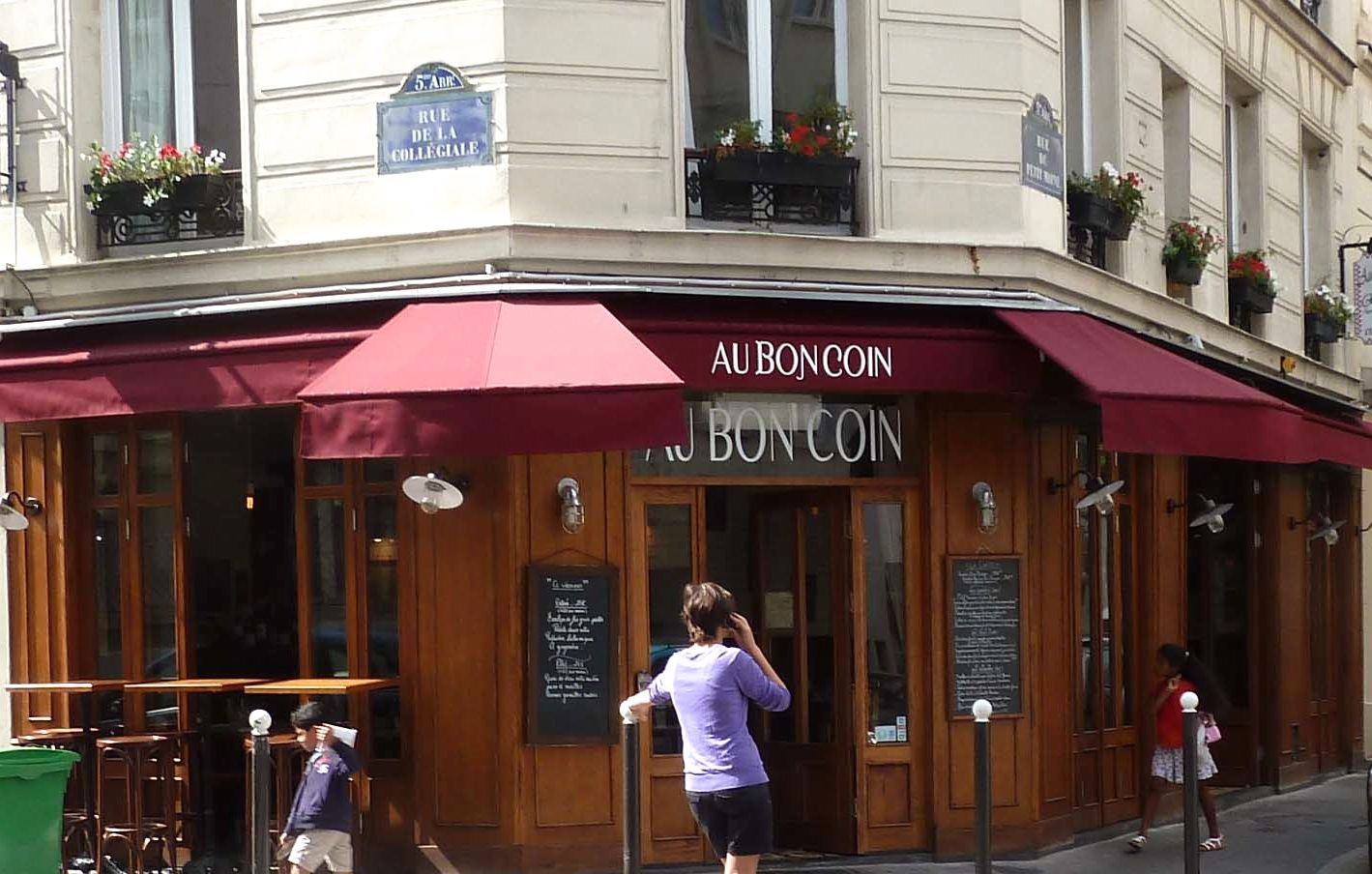 Paris missives bistro au bon coin restaurant review for Bon coin43