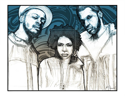 hip hop drawings - fugees