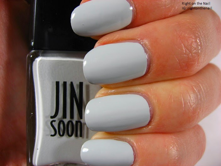 Right on the Nail: JINsoon 2014 Fashion Week Polish: Kookie White