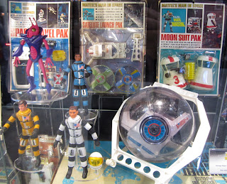 Mattel Major Matt Mason Boxed Sets from SDCC 2012 Comic-Con Display