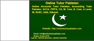 Online Accounts Tutor Saudi Arabia, Kuwait, Qatar, Bahrain, Pakistan