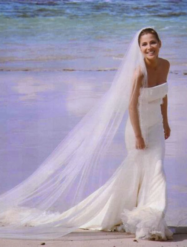vestidos de novia boda Elsa Pataky hermanas bolena