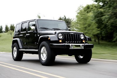 black jeep wrangler - rumour - jeep 4x4