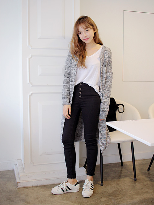 Cardigan Style Korea Import Murah