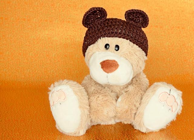 teddy bear hat pepe gorro oso