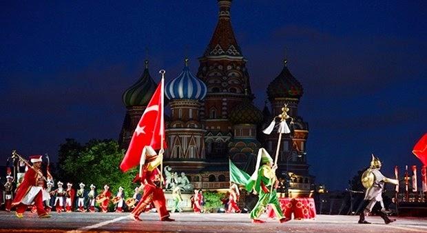 Турки-османы под стенами Кремля