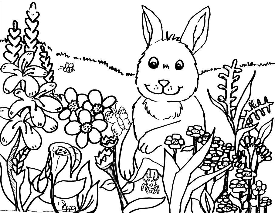 spring springtime coloring pages colouring coloringfilminspectorcom - Spring Coloring Pages Free 2