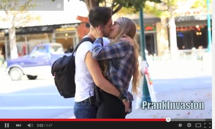 Two Hot Lesbians Kissing