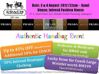 Coach Prada Gucci Sale Offer 2012