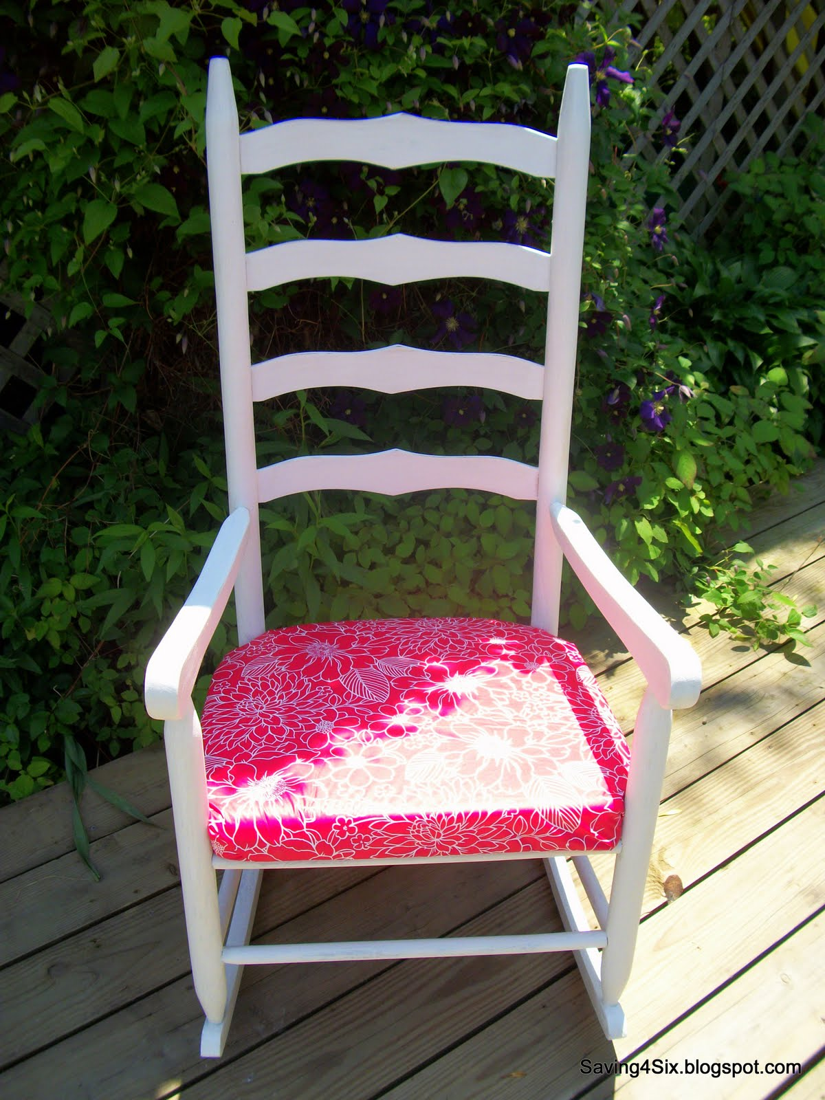 5 Rocking Chair Makeover