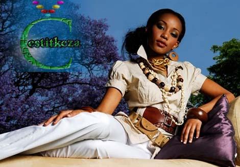 Nancy Sumari miss Afrike