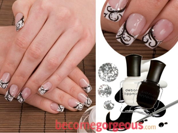 The Amazing Rhinestone nail designs Digital Imagery