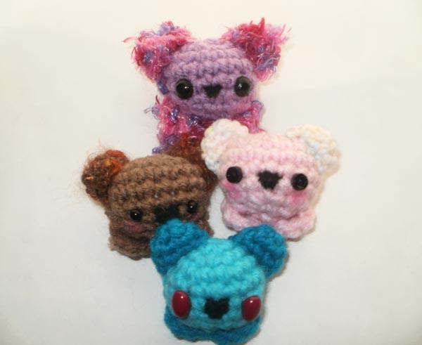 Amigurumi Kawaii Free Patterns : The Amigurumi Girl: Free Amigurumi Pattern: Kawaii Bearlings!!