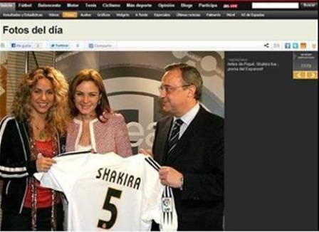 Shakira 10 fotos sexy