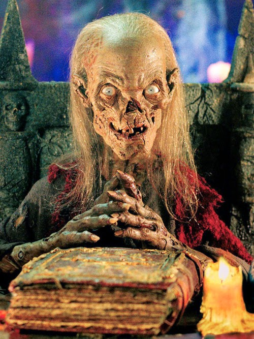 The Cryptkeeper... Husband of the drunken old biddy who verbally bitch slapped me!