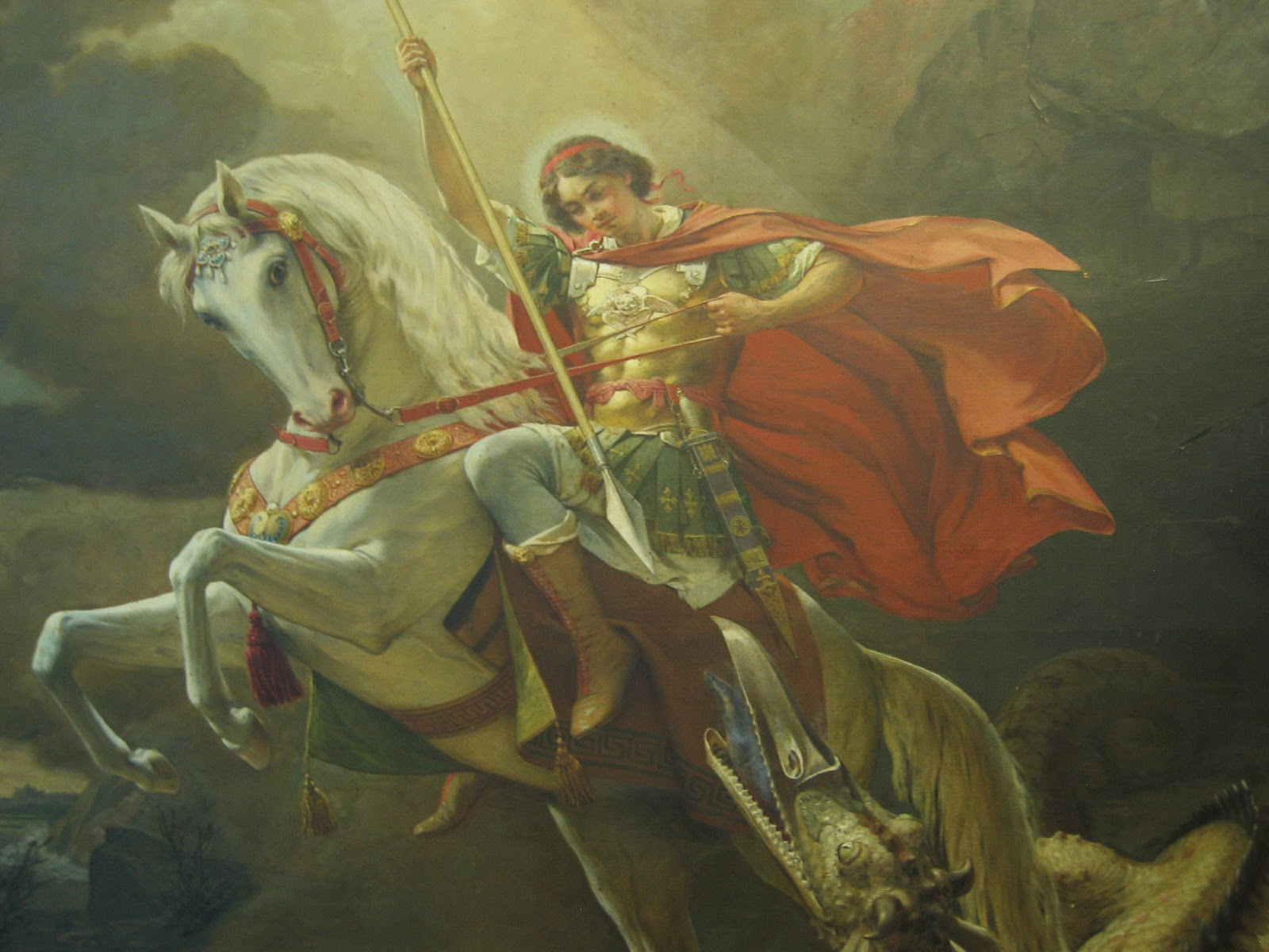 St George Painting
