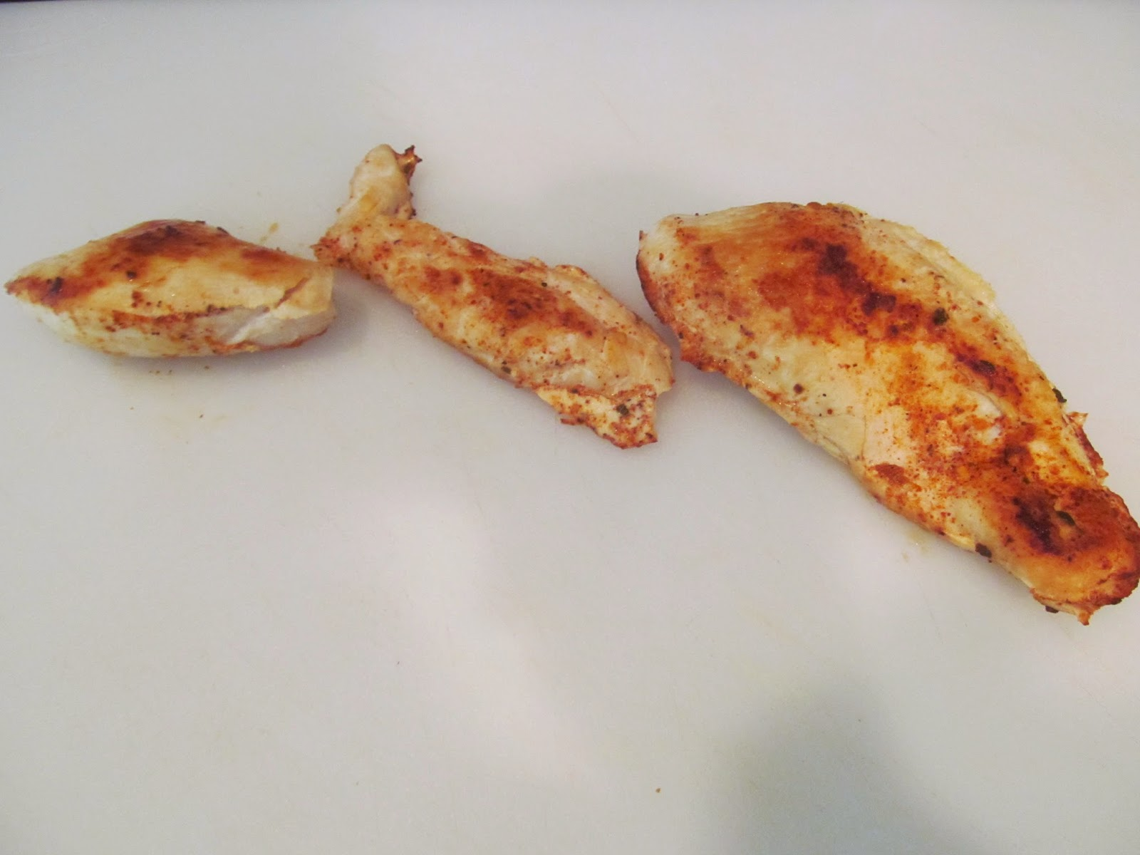 chicken breasts cooked