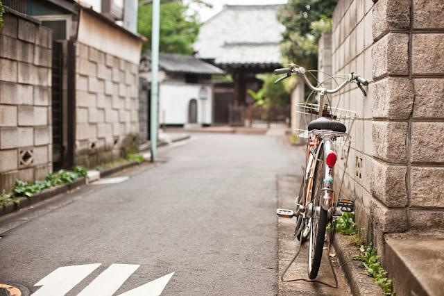 Bicicleta en Japón