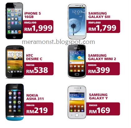 Prepaid plan bagi Maxis rebate RM200 Pakej Komunikasi Belia