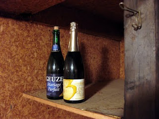 My cellar is short on Lambics at the moment, but still had a Drie Fonteinen and a Boon.