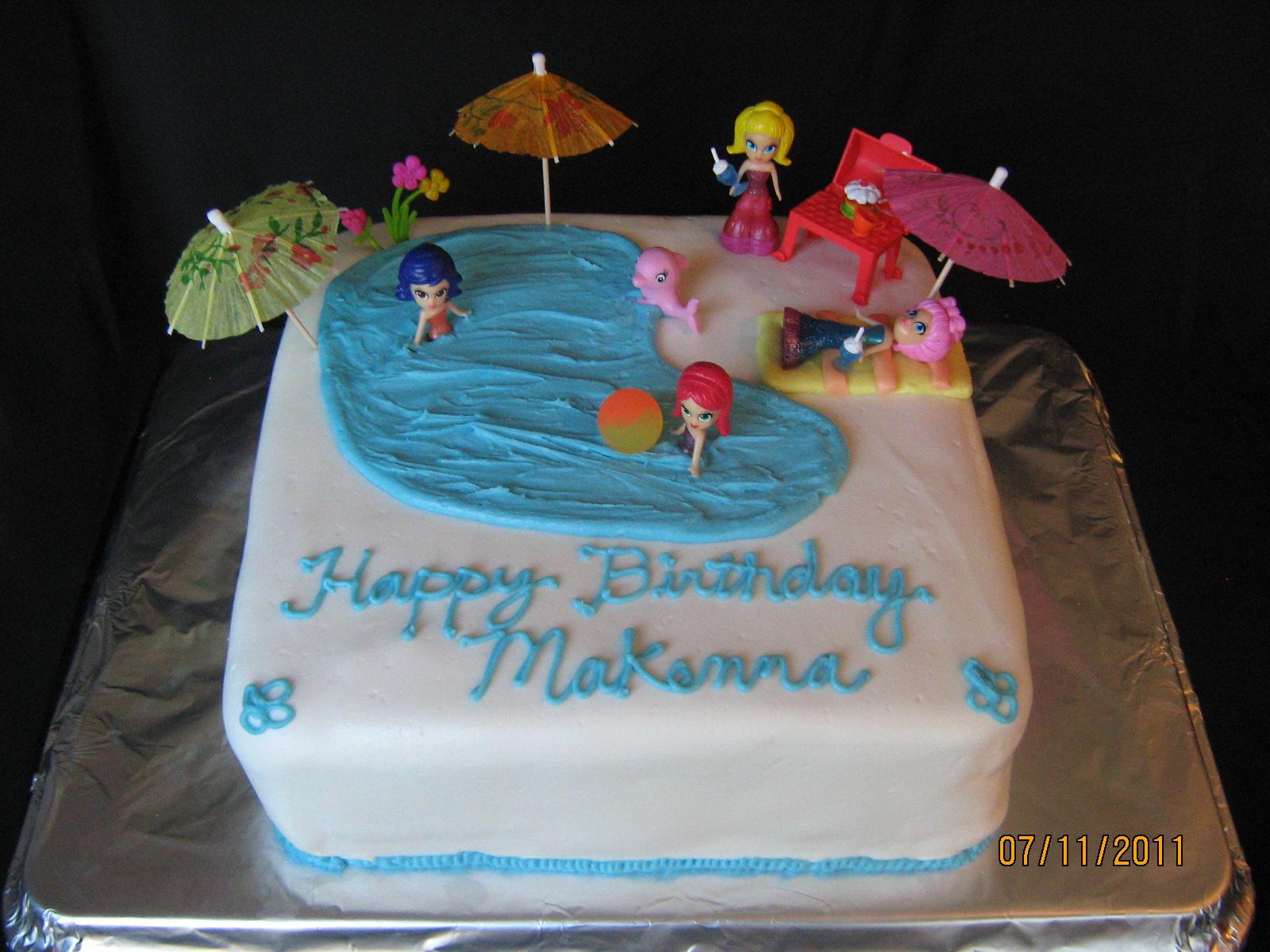 One Cake Wonders Happy Birthday Large Square Cake