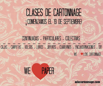 CLASES CARTONNAGE
