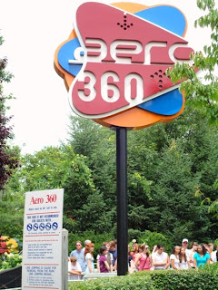 Kennywood Aero 360 Pitt Fall