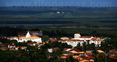 Vista Aérea Parcial do Centro Histórico de São Cristóvão, em Sergipe