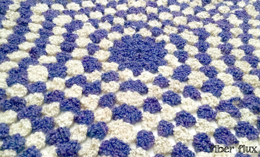 Fiber Flux Free Crochet Patternolet Clouds Throw