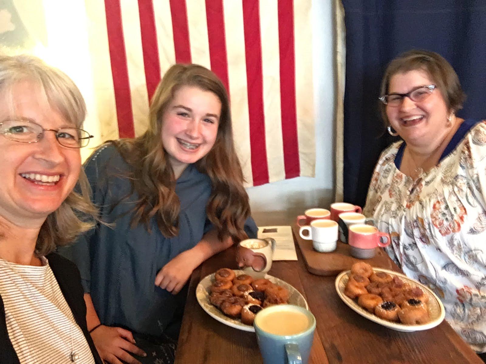 Pip's Doughnuts & Chai, Portland OR 2018- Flight of Chai
