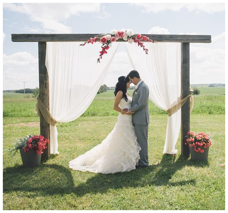 Outdoor Wedding Altars: How To DIY Your Wedding Altar & Aisle