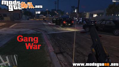 V - Mod Guerra de Gangues para GTA V PC