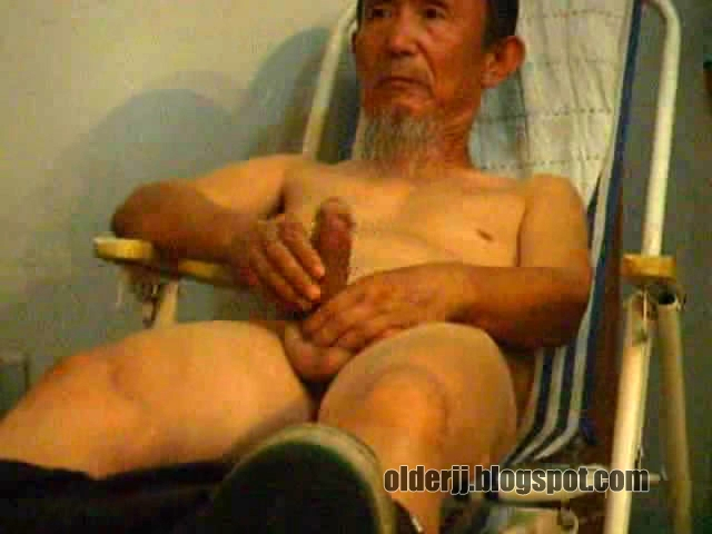asian grandpa big cock