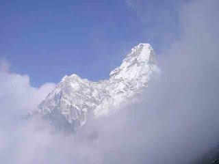 gunung himalaya, everest, puncak tertinggi