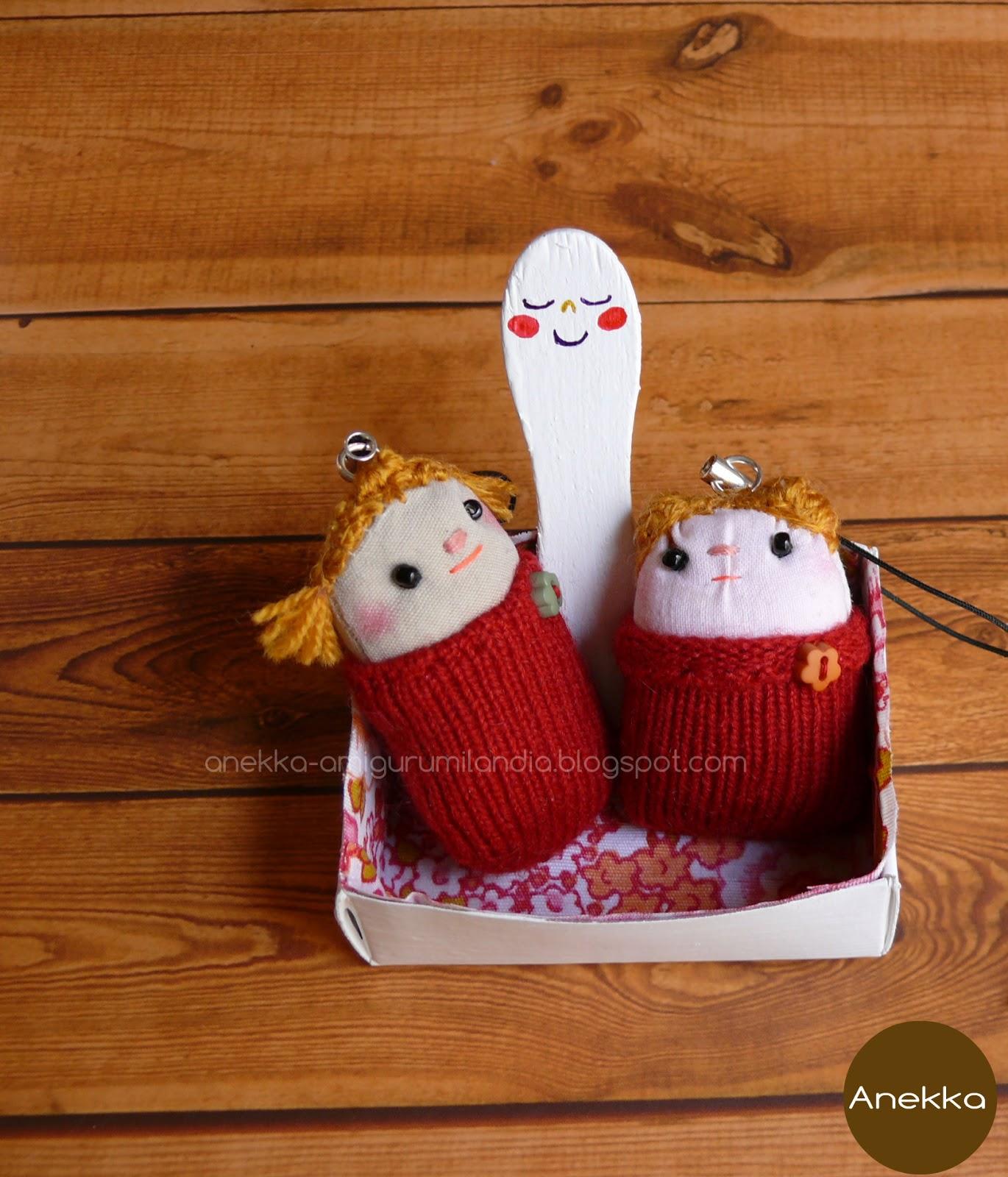 lovely  dolls key chains anekka handmade