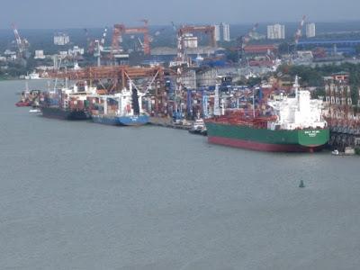 Ernakulam commercial port in Kochi
