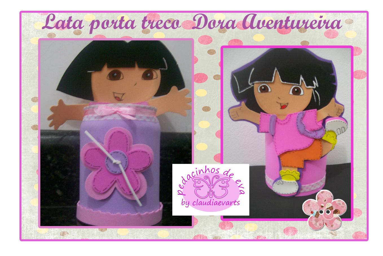 Festa Infantil Molde Da Dora Aventureira