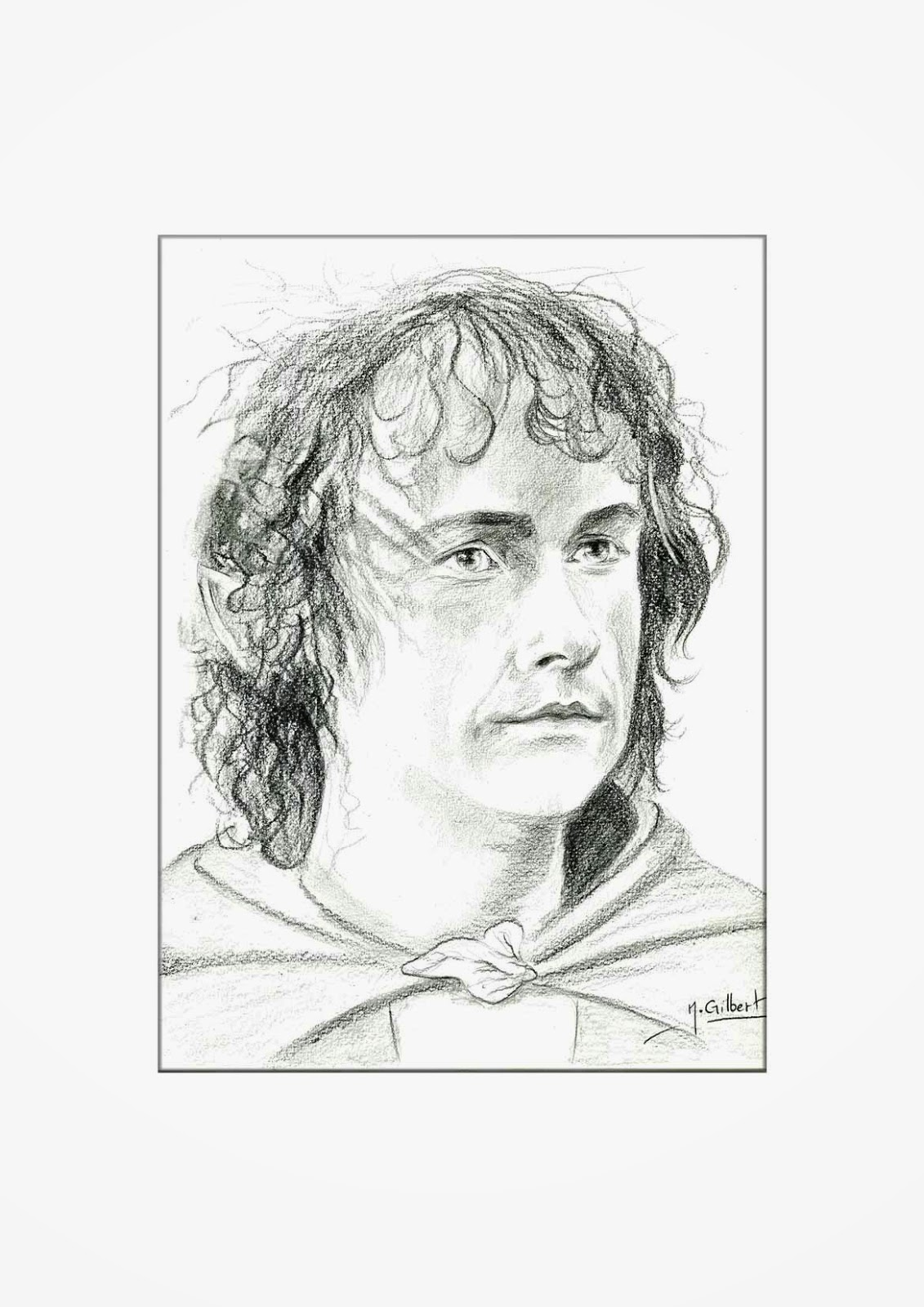 Nabrochot Creations Peregrin Took Le Seigneur Des Anneaux Dessin Drawing