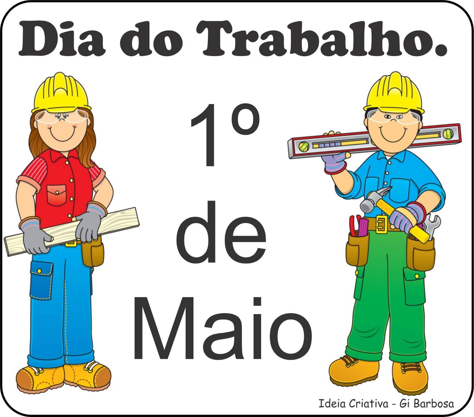 Música Infantil para comemorar o Dia do Trabalho (1º de maio).