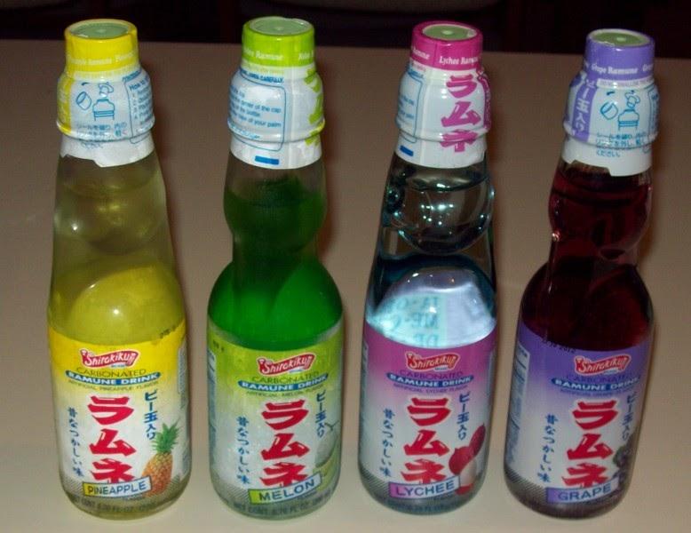 Ramen Butterfly Shirakiku Ramune Drink