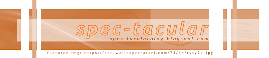 Spec-tacular Blog