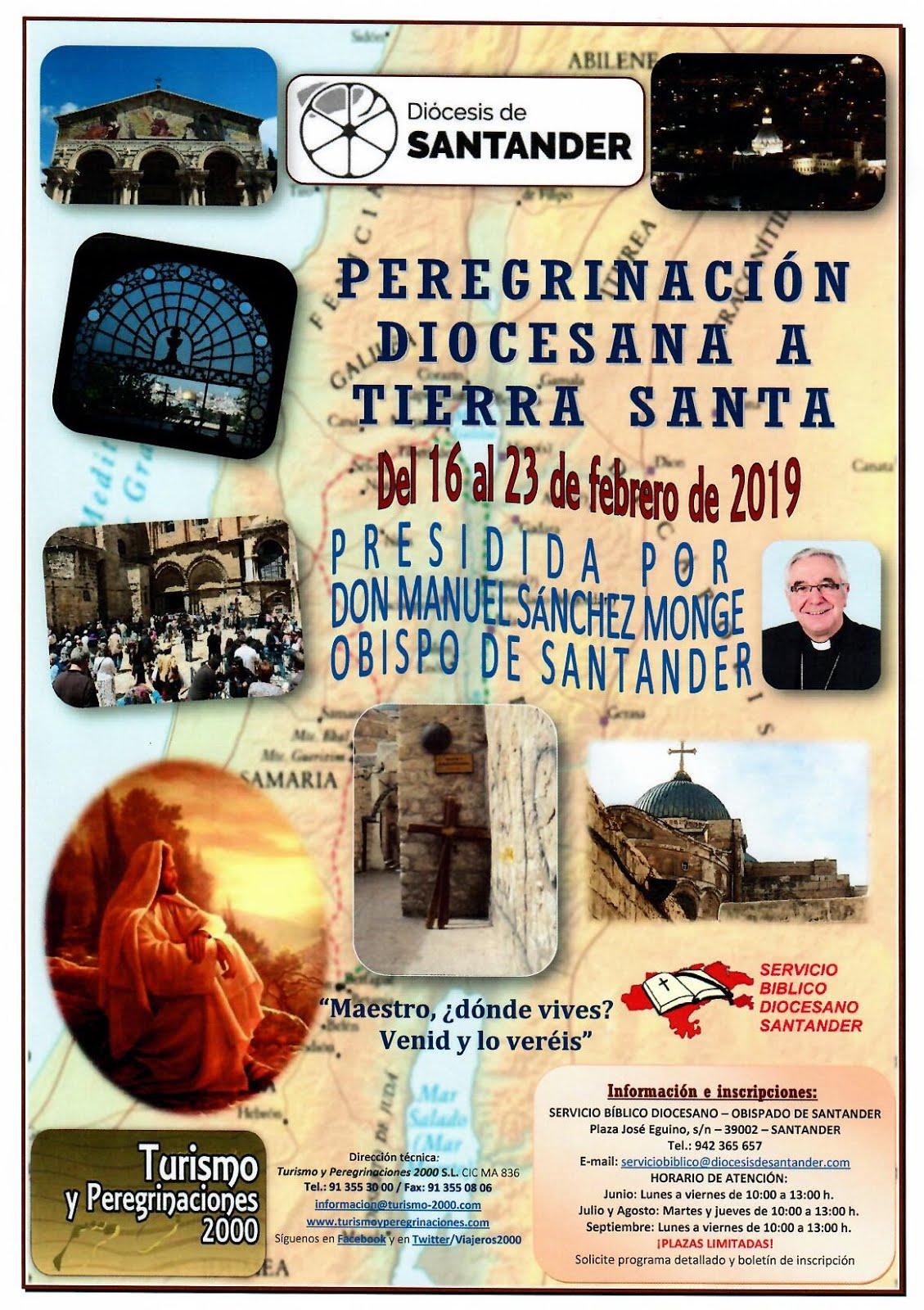 PEREGRINACION DIOCESANA A TIERRA SANTA