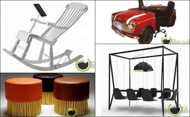 10 Desain Furniture Teraneh dan Terunik di Dunia