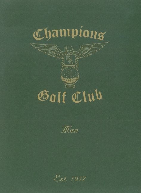 CHAMPIONS GOLF CLUB logo