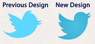 Ganti logo, Burung Twitter berubah.