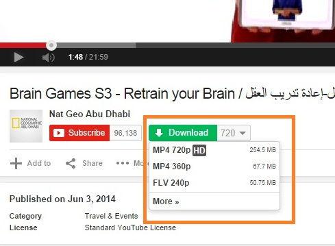 أسهل طريقة لتحميل مقاطع الفيديو من اليوتويب والفيس بوك بشكل مباشرdwonload from youtube and facebook